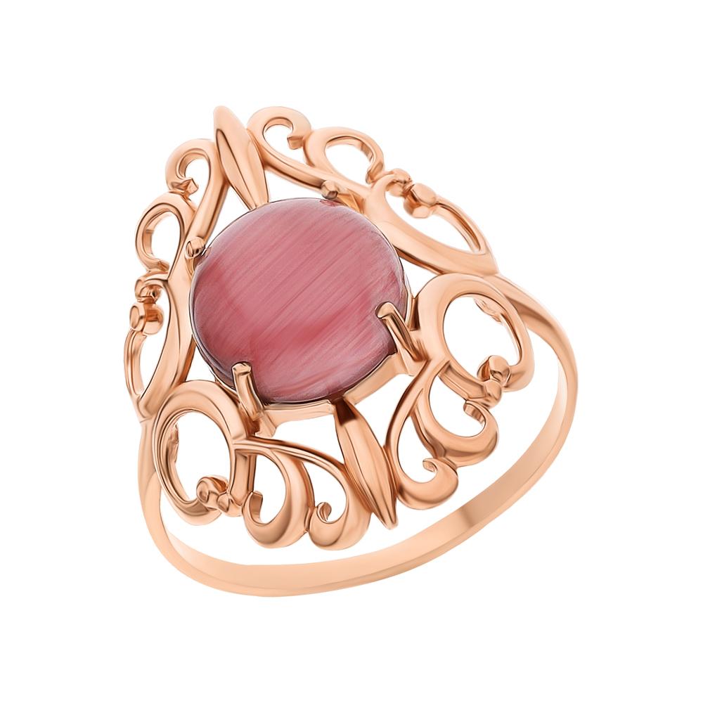 Фото «Серебряное кольцо с кошачьим глазом 94-01-4973-00»
