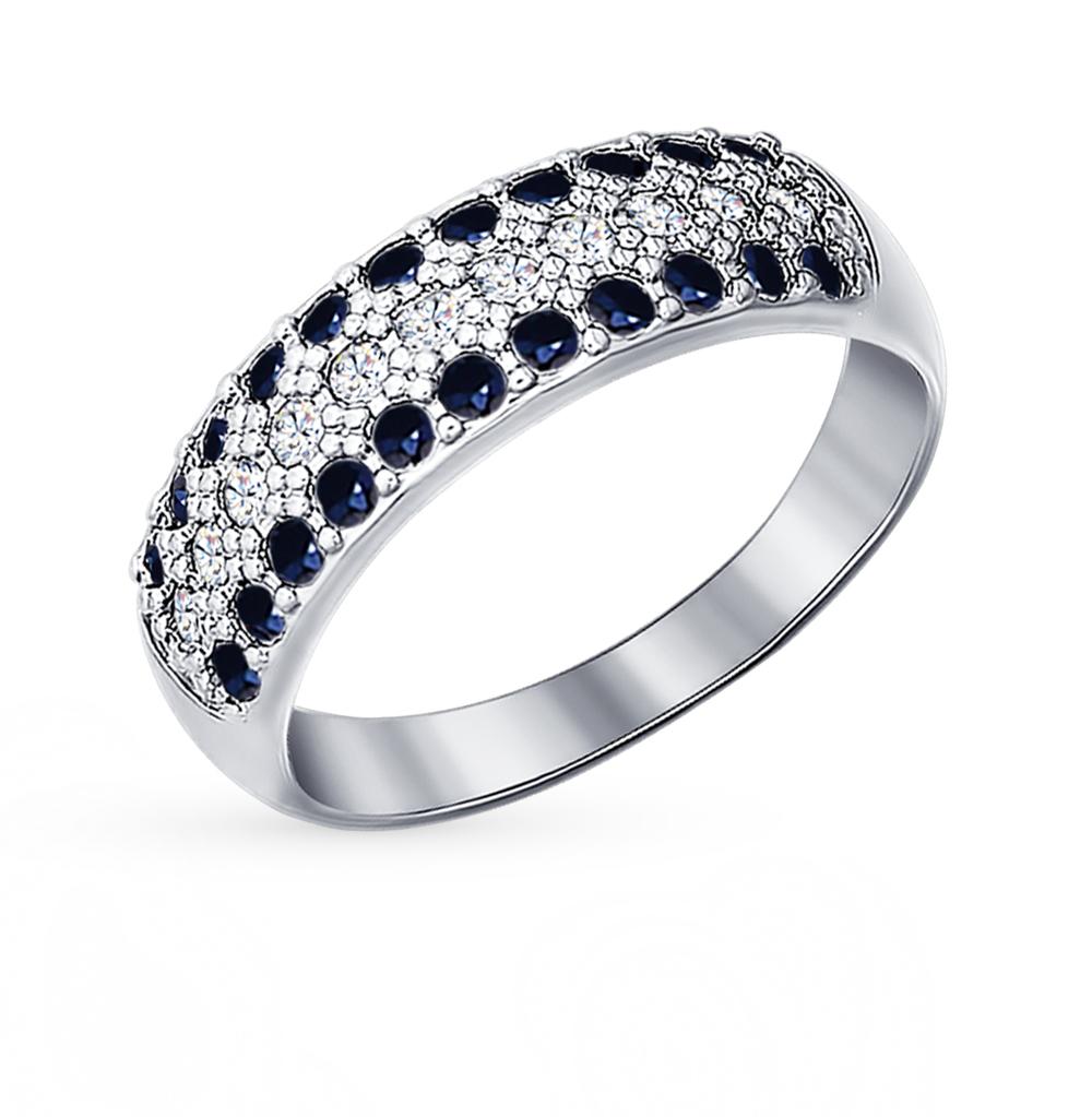 Серебряное кольцо с фианитами SOKOLOV 94010064 в Екатеринбурге