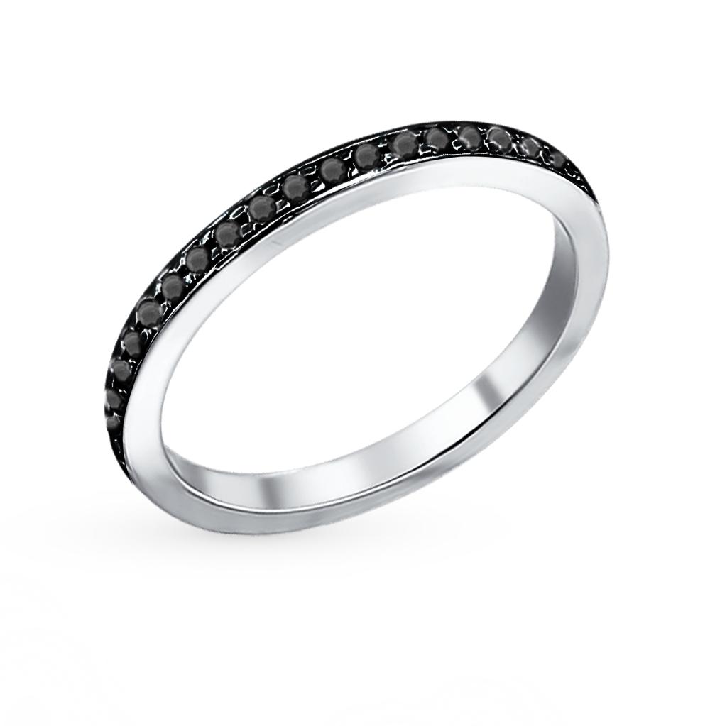 серебряное кольцо с фианитами SOKOLOV 94010700