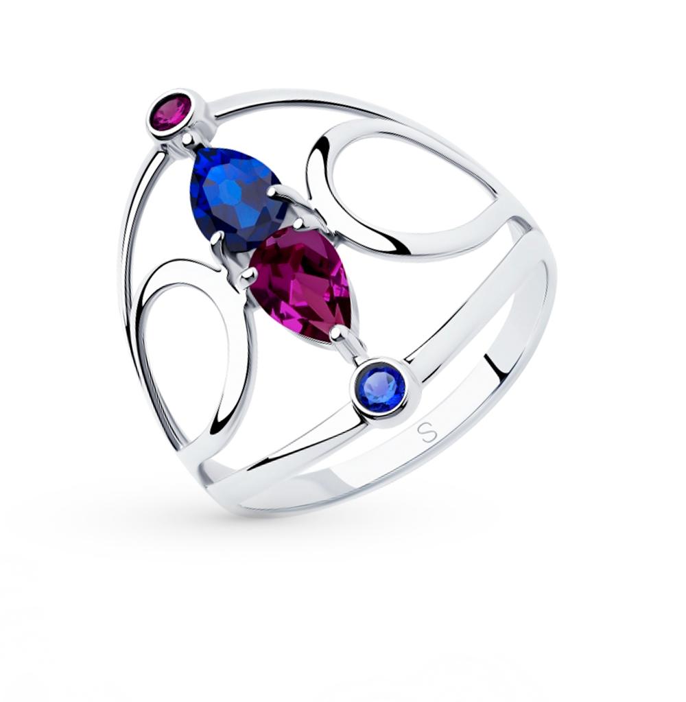 Серебряное кольцо с фианитами SOKOLOV 94013024 в Екатеринбурге