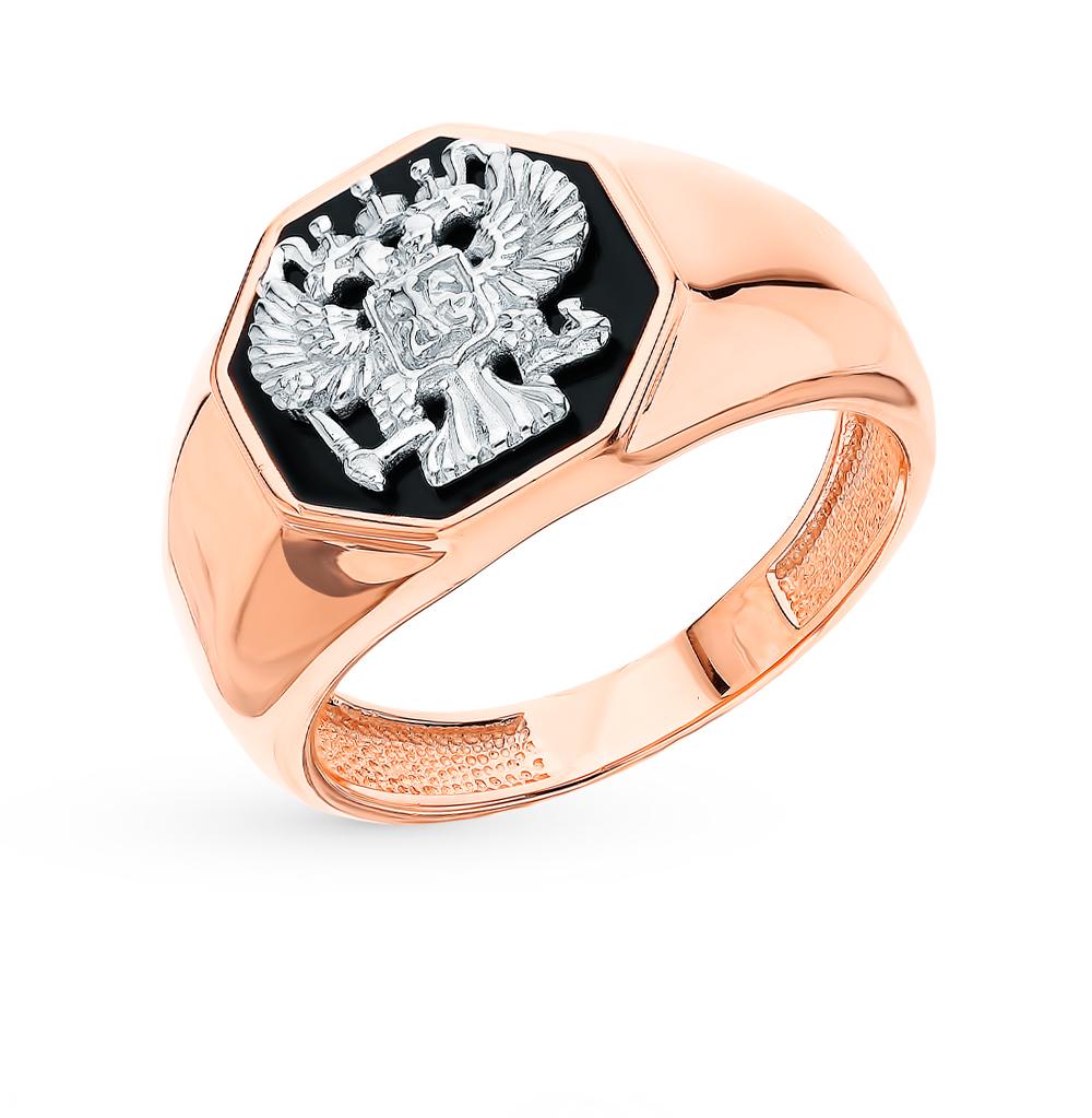 Золотое кольцо с эмалью в Санкт-Петербурге