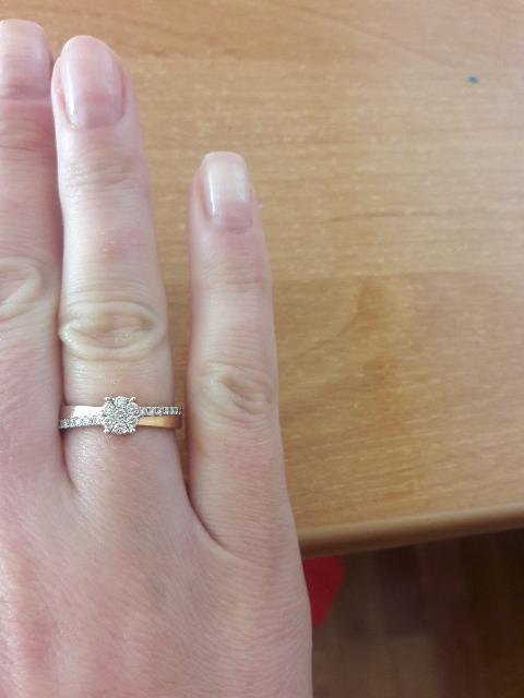 Мое кольцо с бриллиантами