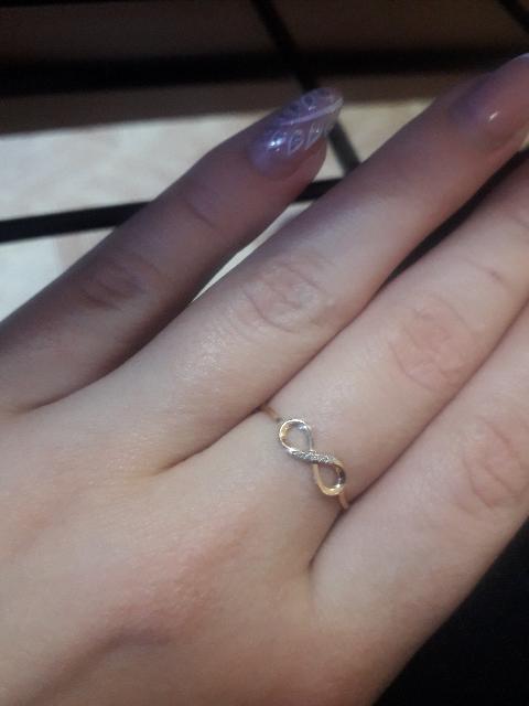 Кольцо с блиллиантами