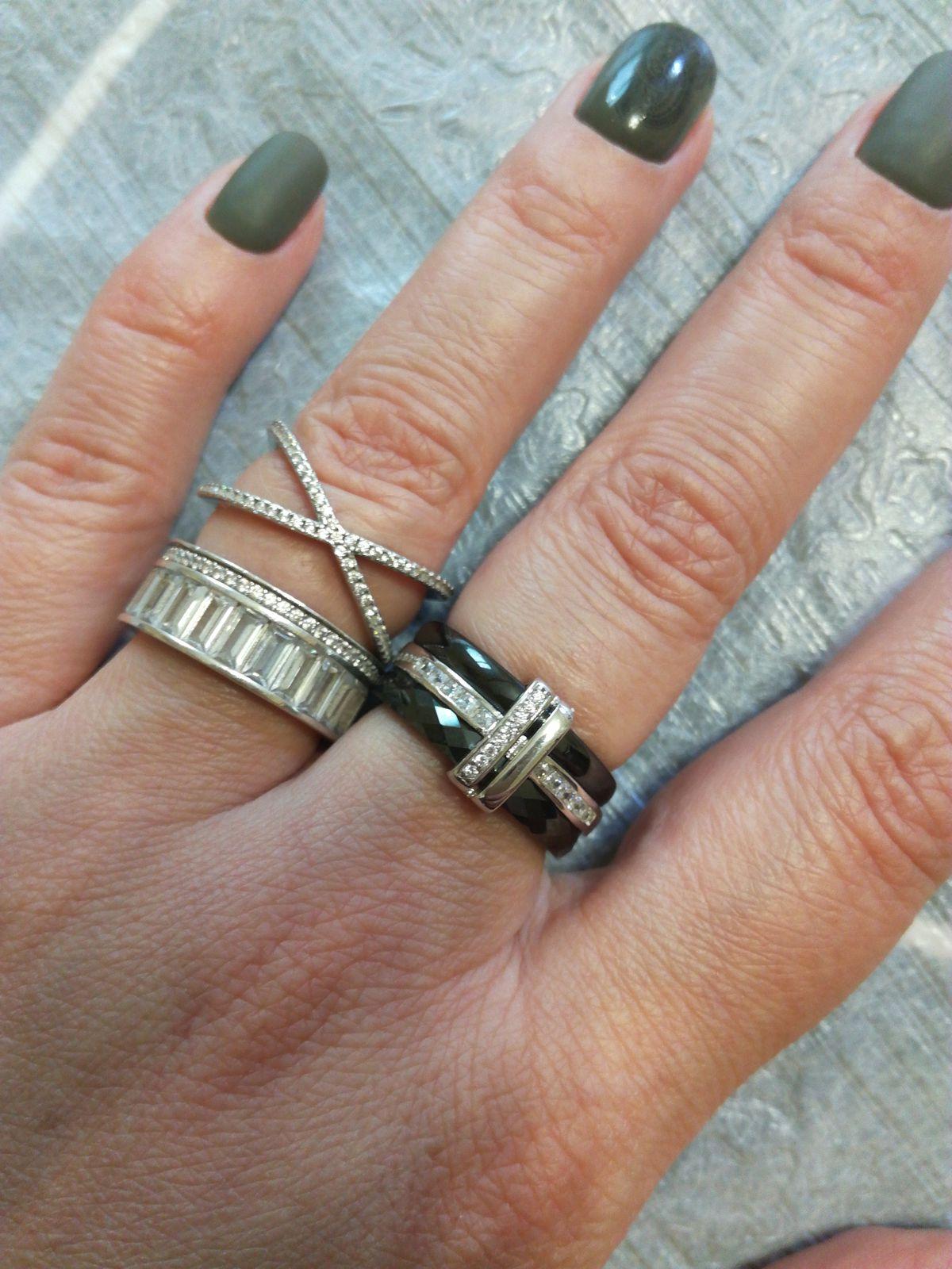 Керамическое кольцо просто шикарное