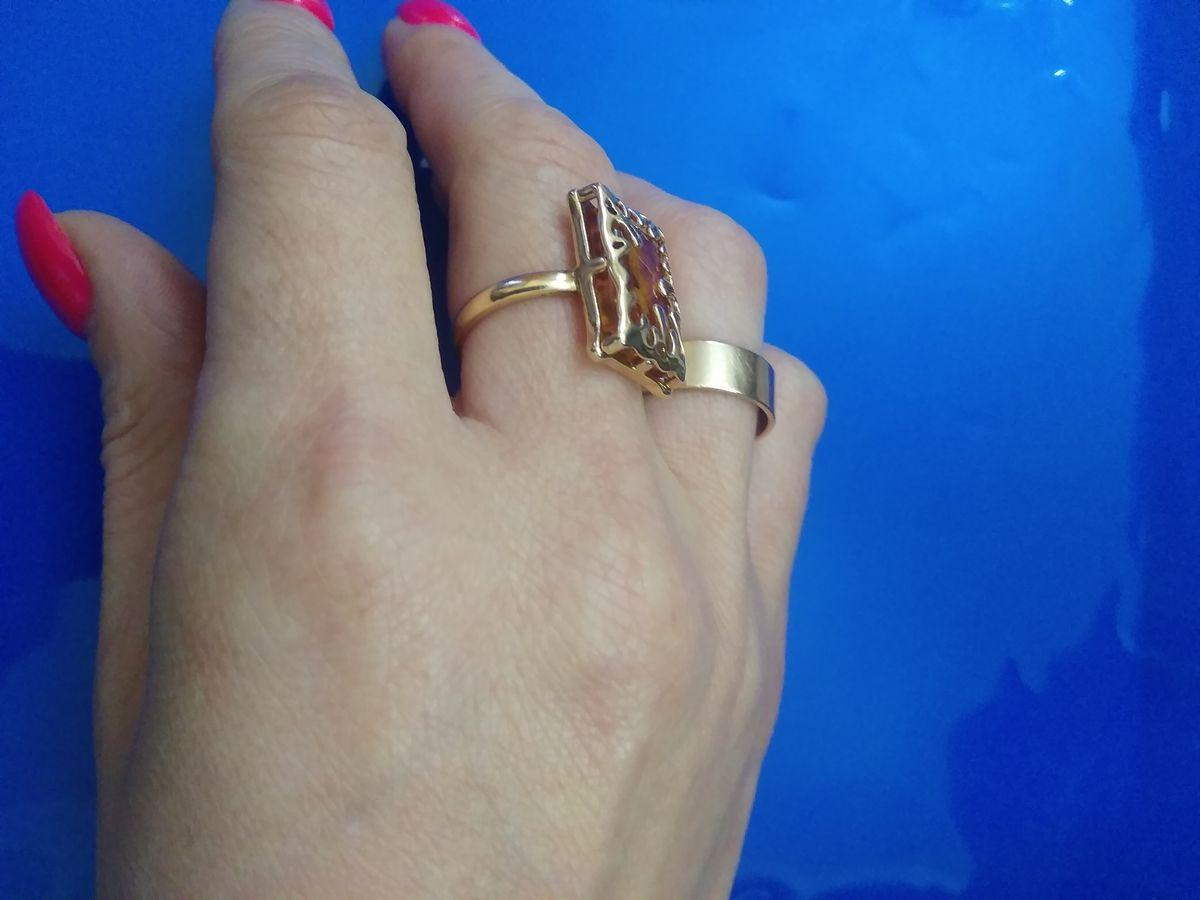 Кольцо серебряное из солнечного января. стало любимым