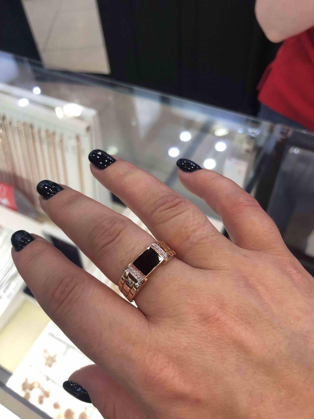 Суперрр кольцо 👌🏻мужу очень поноавилось , покупайте , не пожалеите,👌🏻