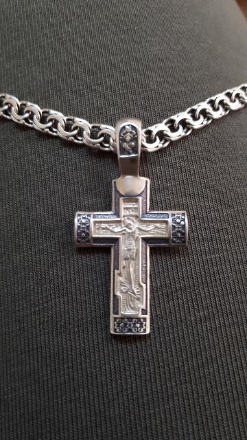 Серебрянный крест