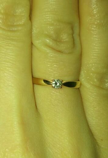 Прекрасное кольцо для любителей классики