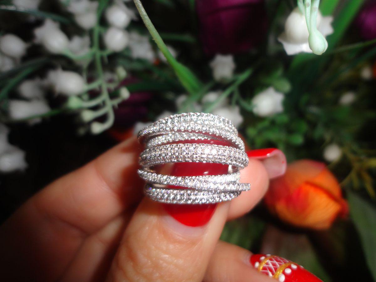 Шикарное объёмное кольцо!