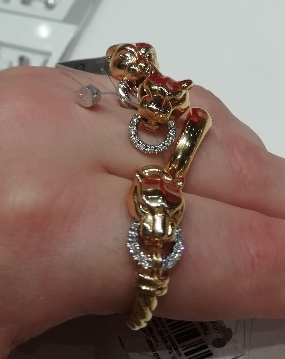 Кольцо пантера.