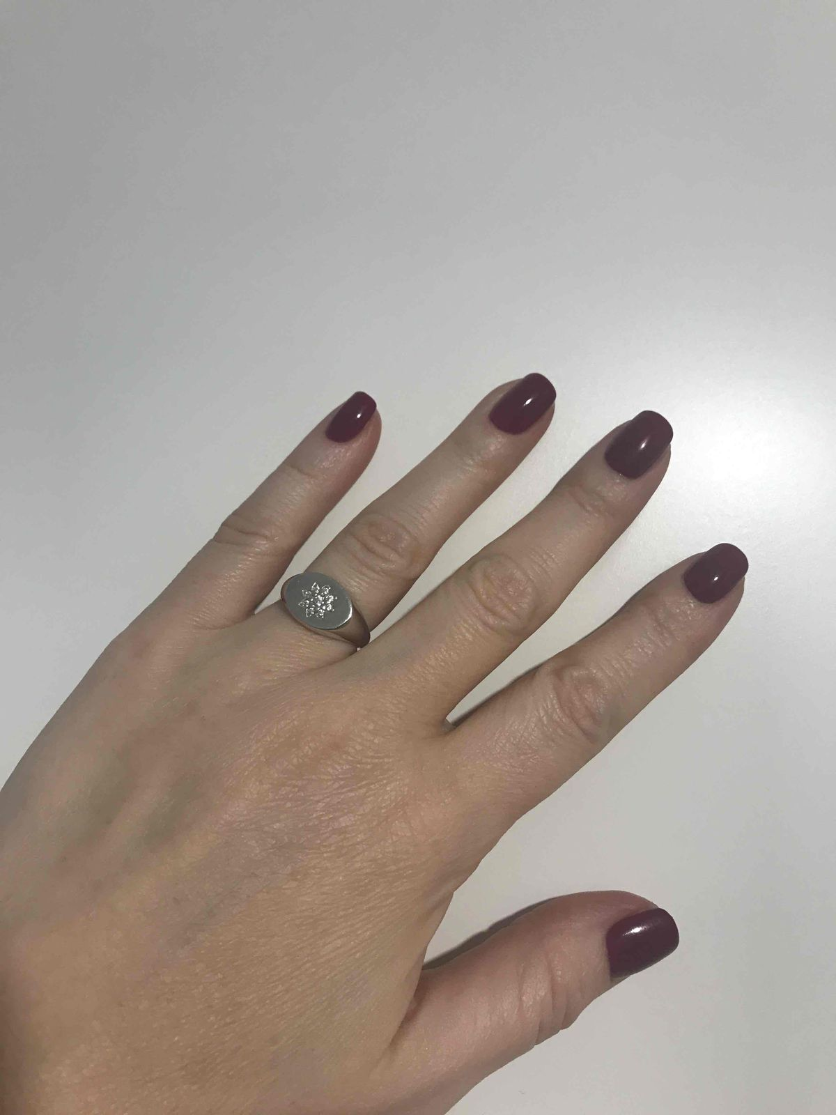 Моё любимое кольцо из серебра теперь!