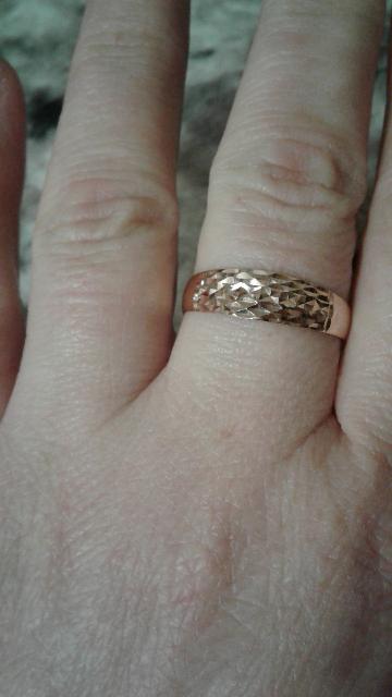Золотое кольцо в подарок