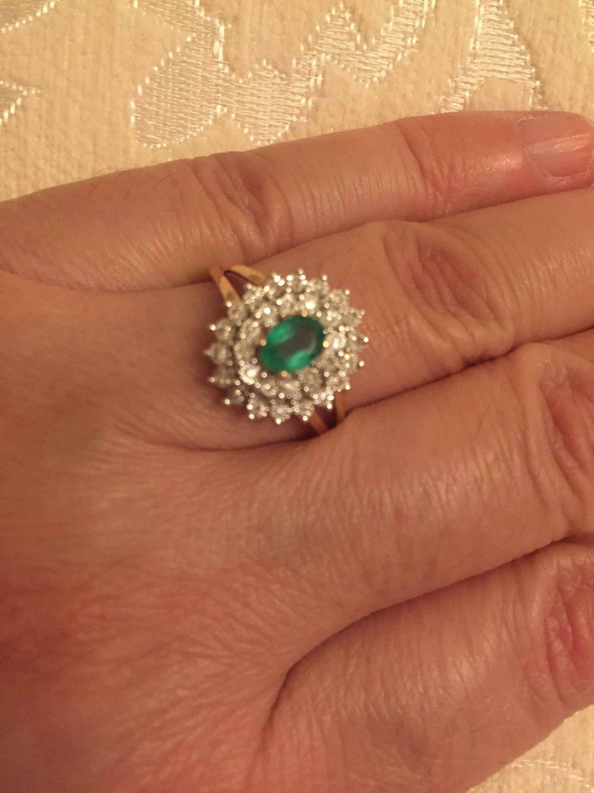 Изумрудное кольцо.