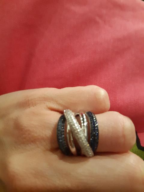 Серебрянное кольцо.