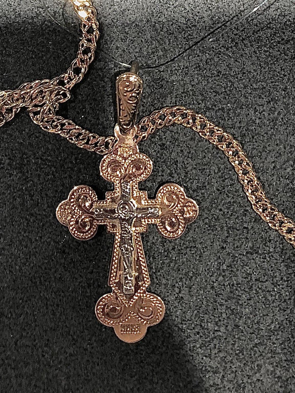 Крестик в подарок
