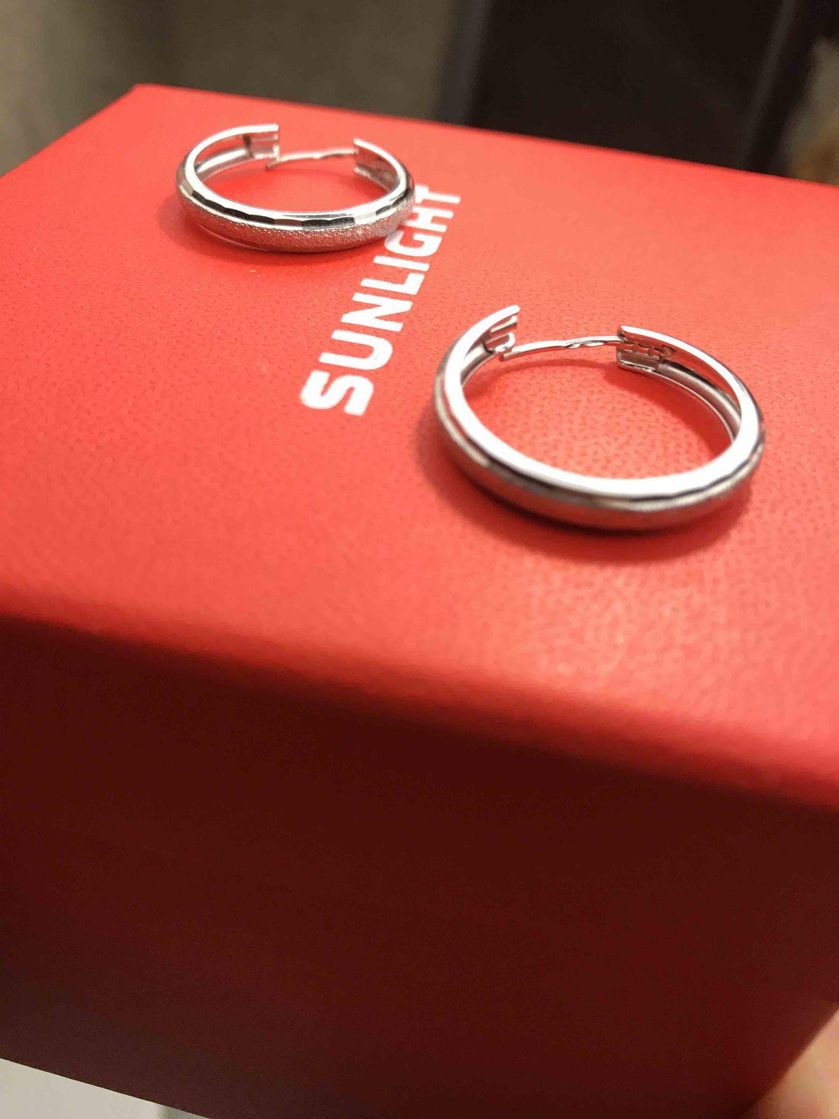 Стильные кольца-серьги
