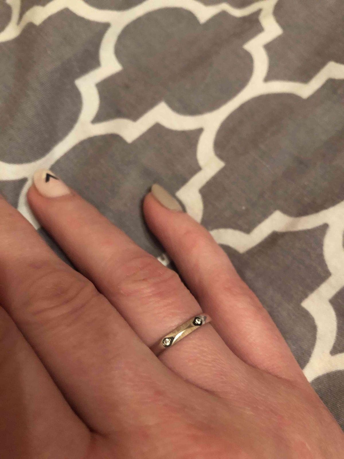 Элегантное кольцо для невесты