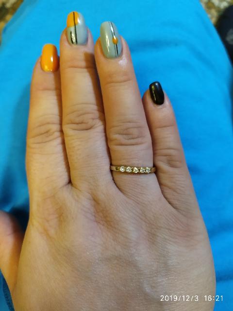 Кольцо в подарок.