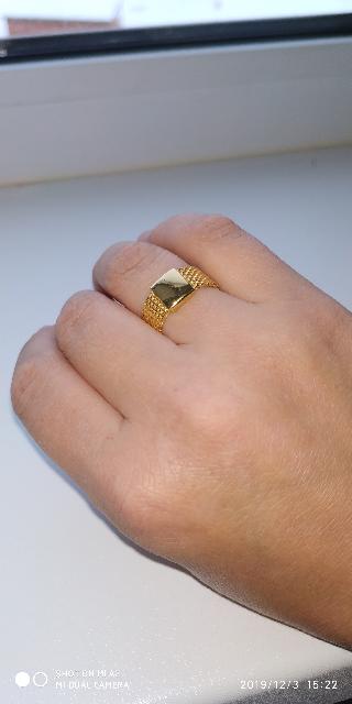 Кольцо из Италии.