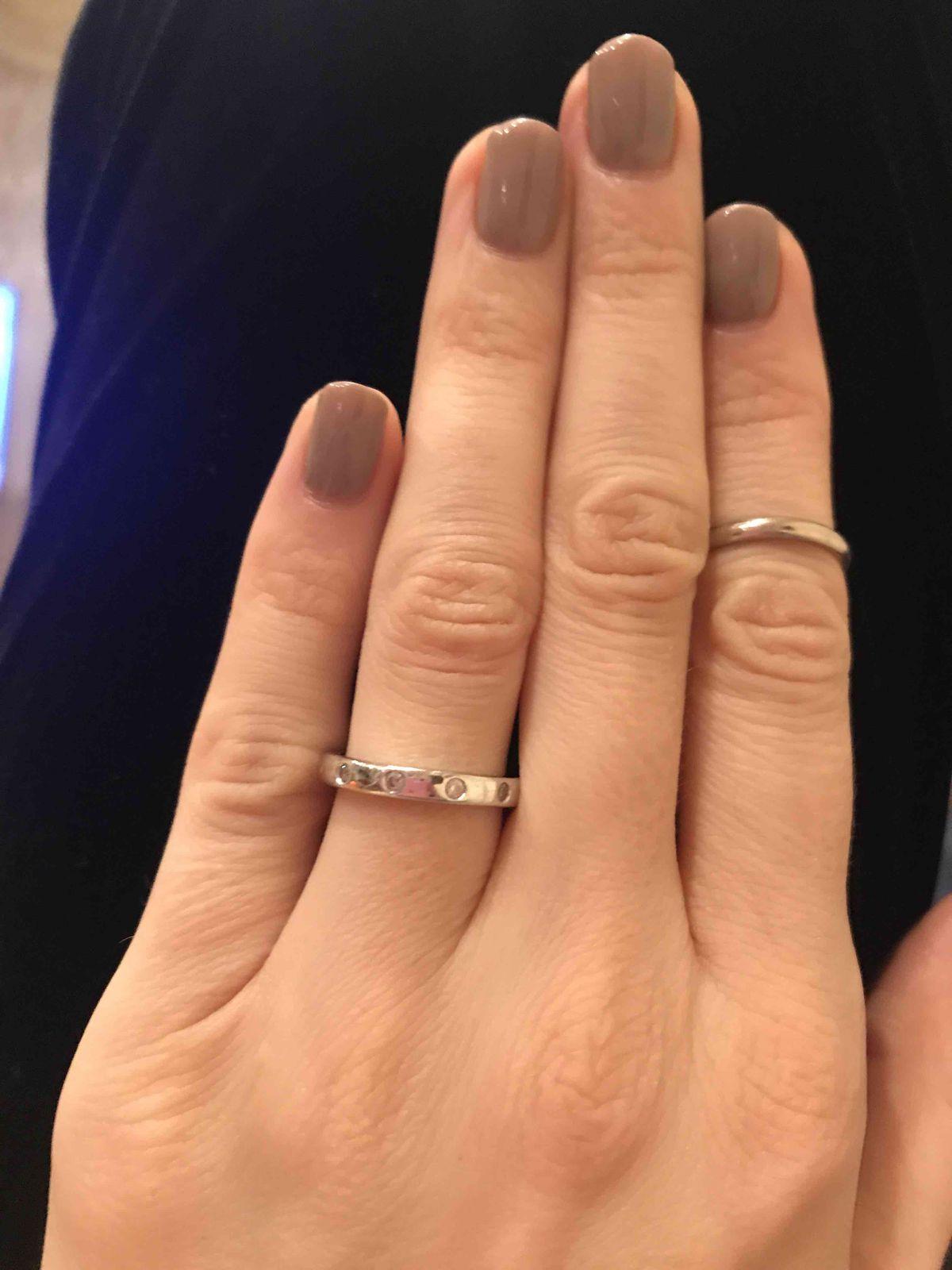 Минималисическое кольцо на каждый день