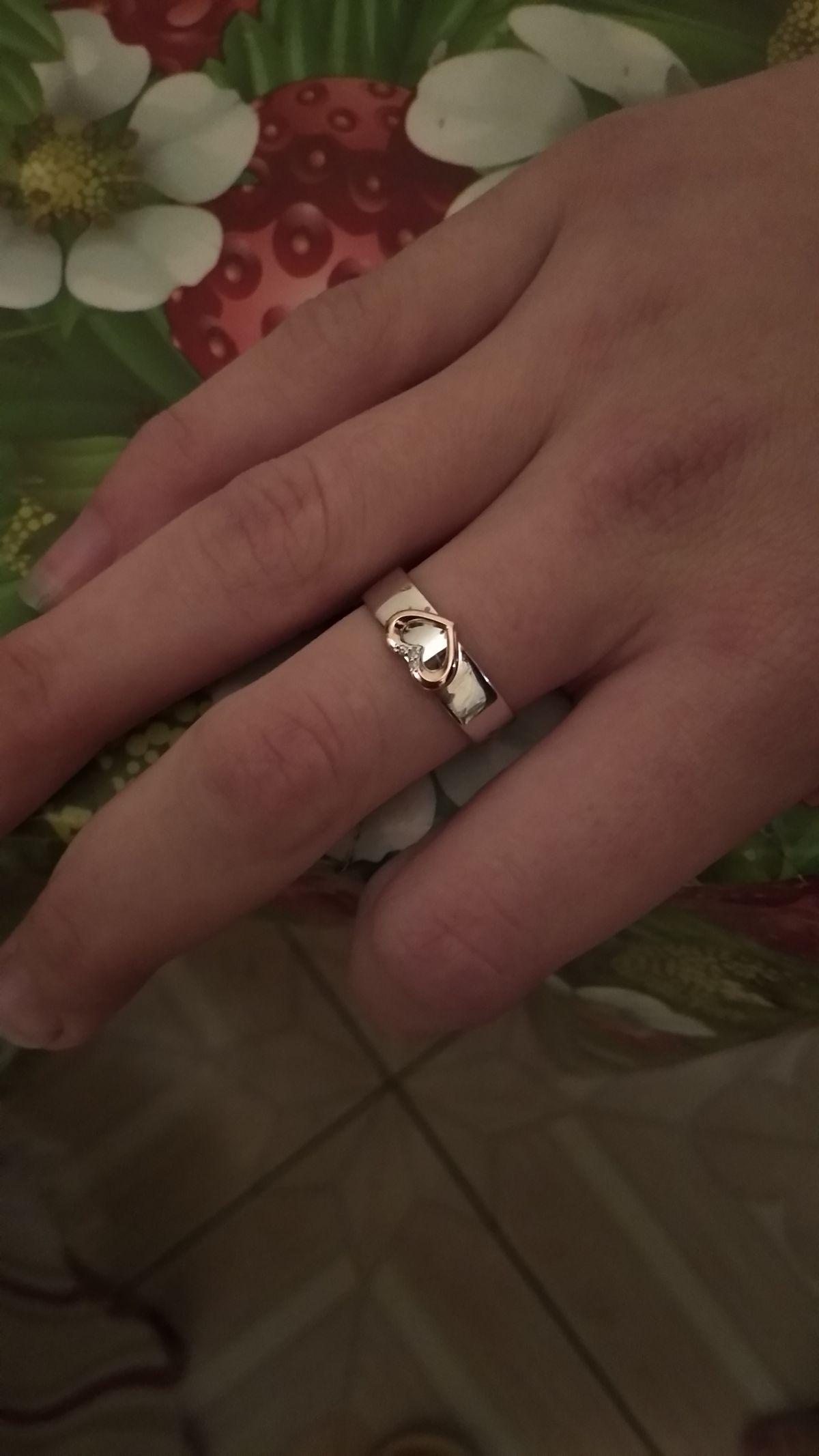 Кольцо со скидкой