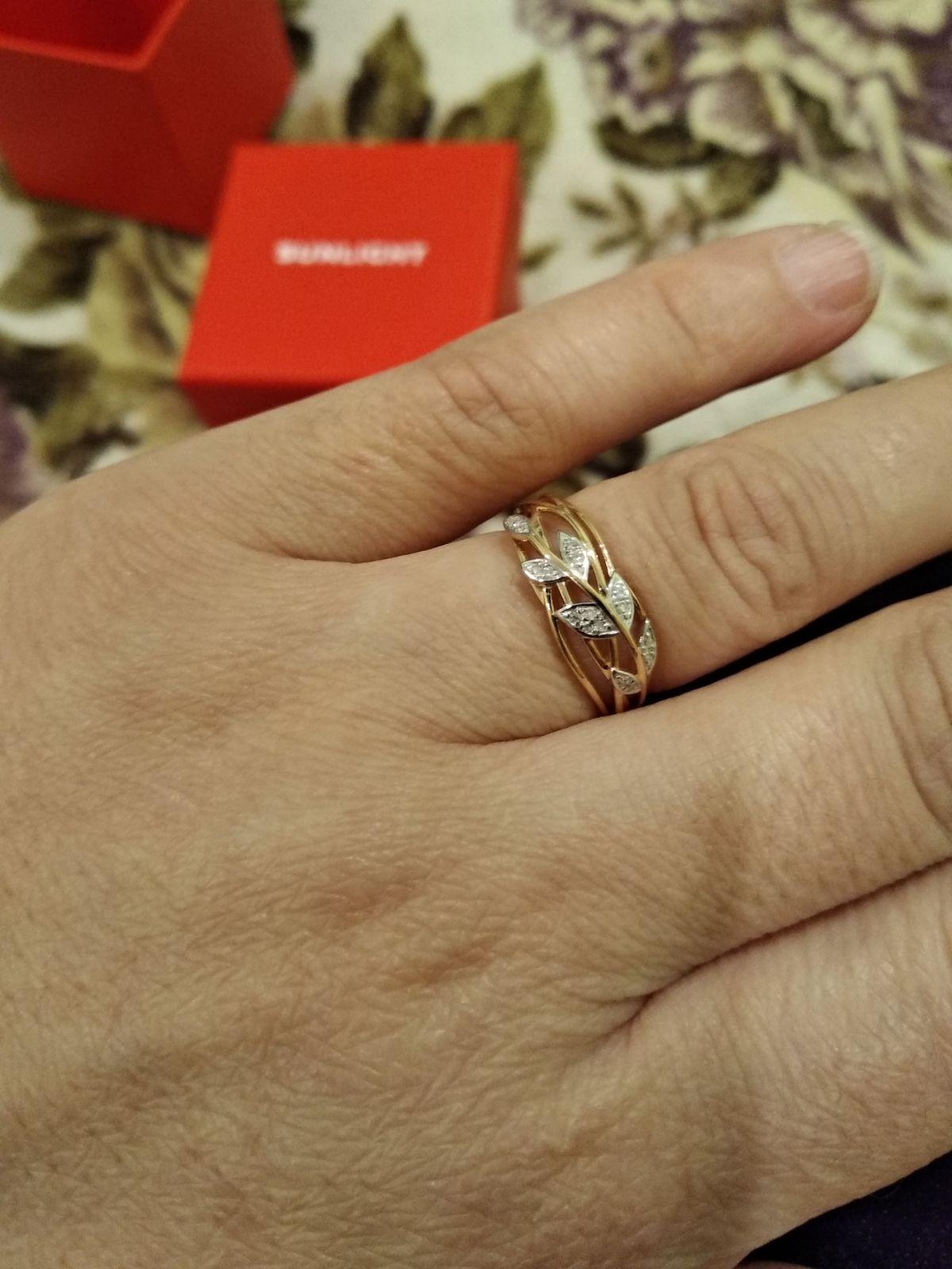 Кольцо с бриллиантами ещё одно.