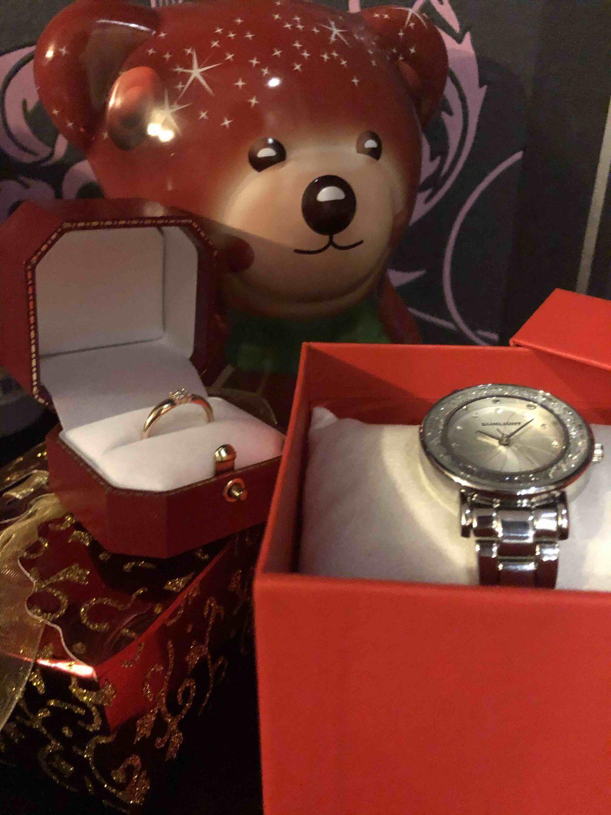 Спасибо за стильные часы!