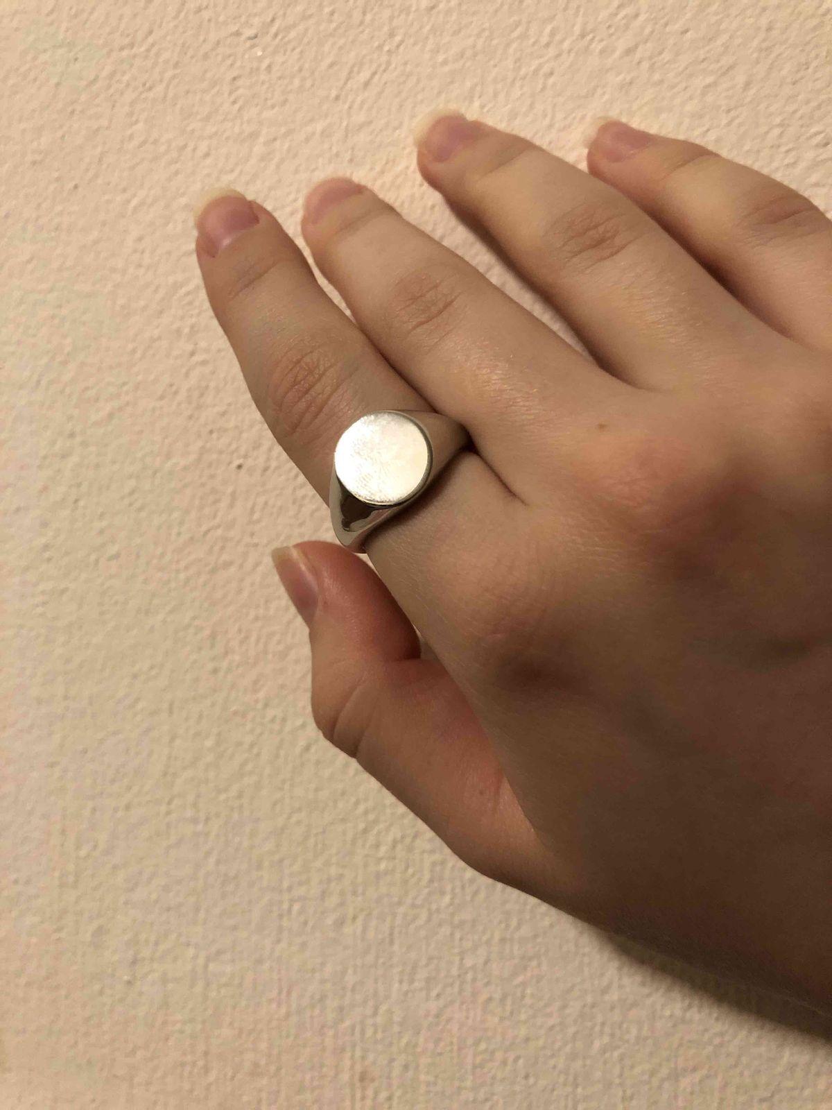 Купила кольцо