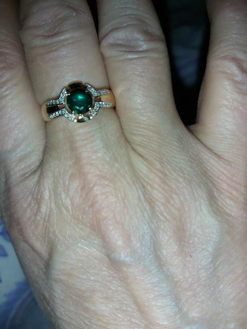 Прекрасное кольцо, спасибо