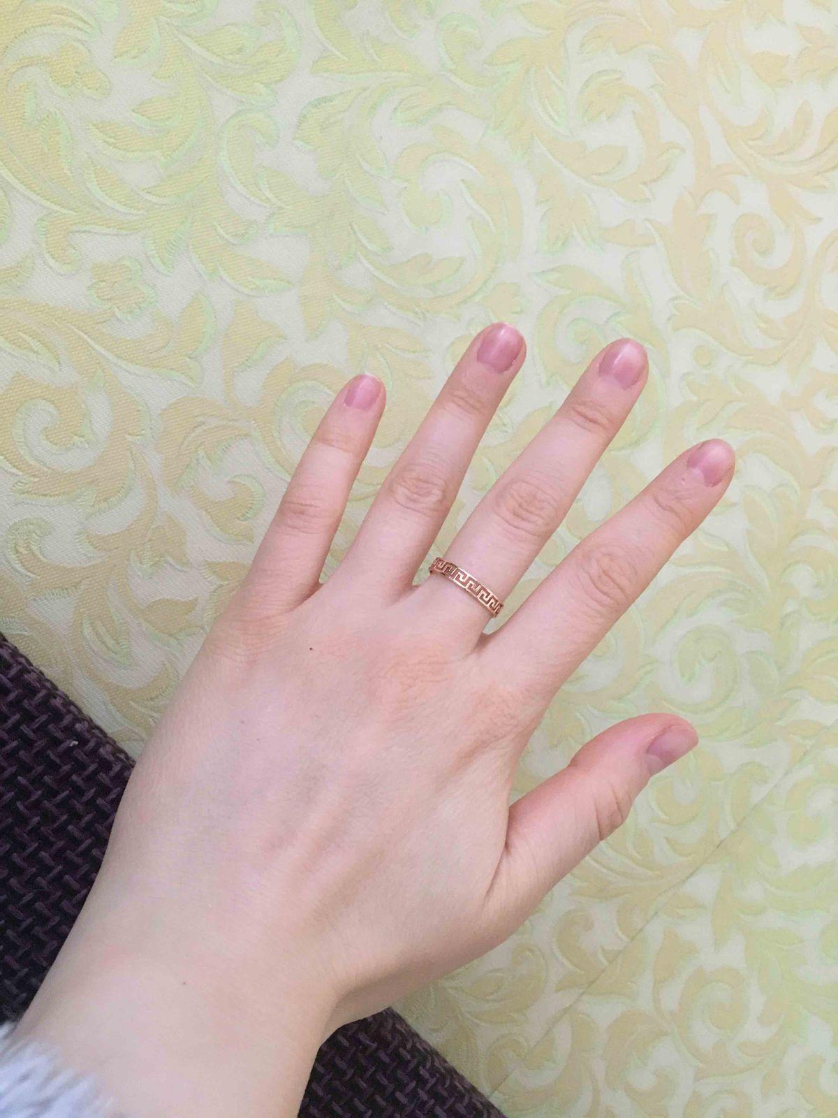 Кольцо 17,5 размер
