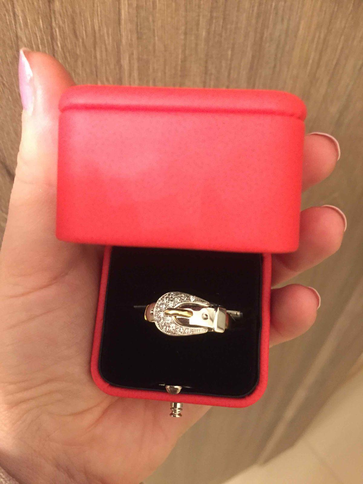 Очень-очень-очень стильное кольцо!