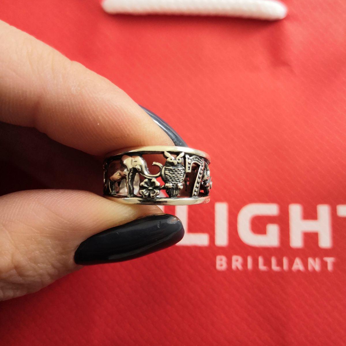 Красивое колечко на большой палец
