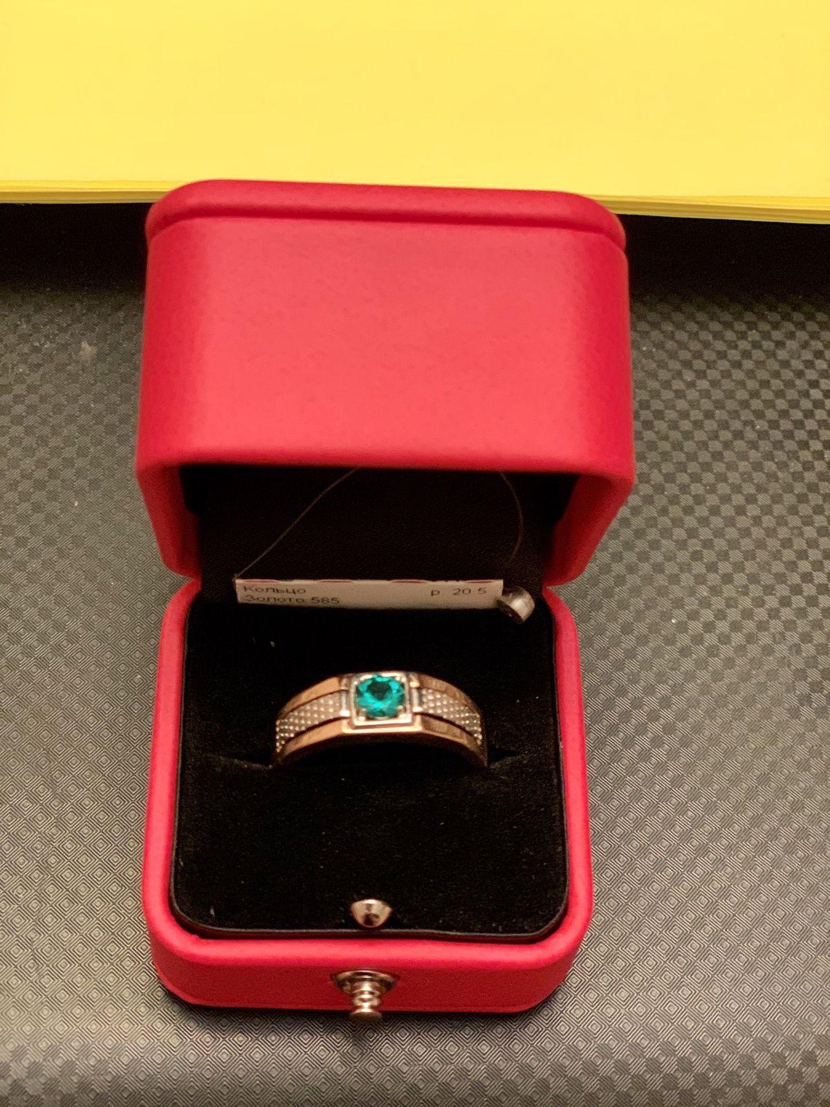 Солидное кольцо из мужской коллекции