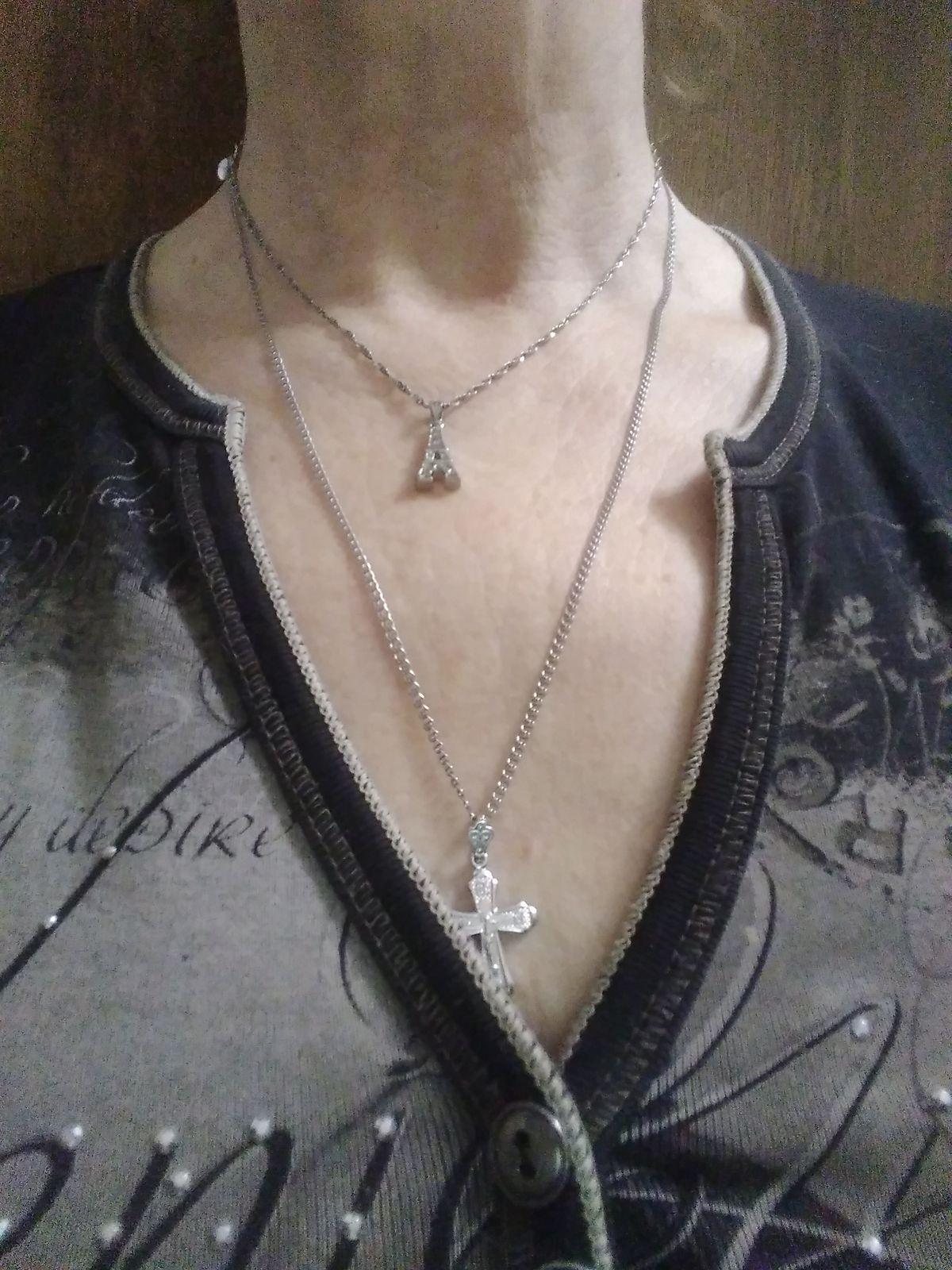 Цепочка изящная, лёгкая с алмазной гранью