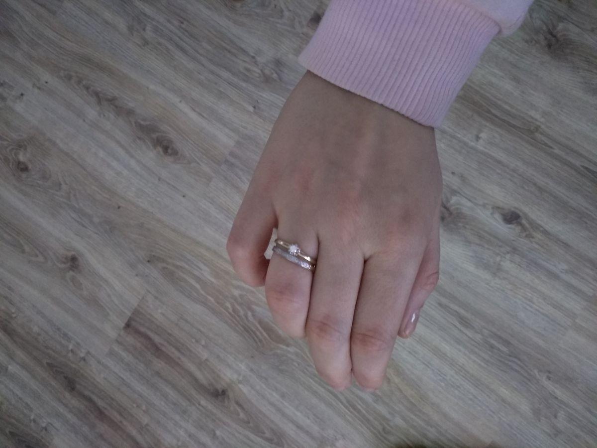Красивое, нежное кольцо.