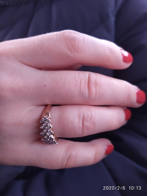 Шикарное кольцо!!! Моей очень понравилось!!!