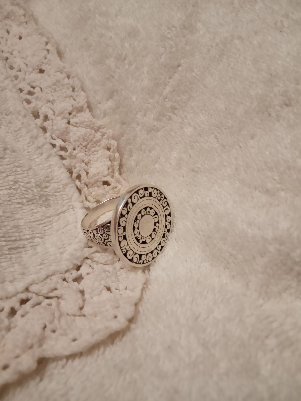 Кольцо антик