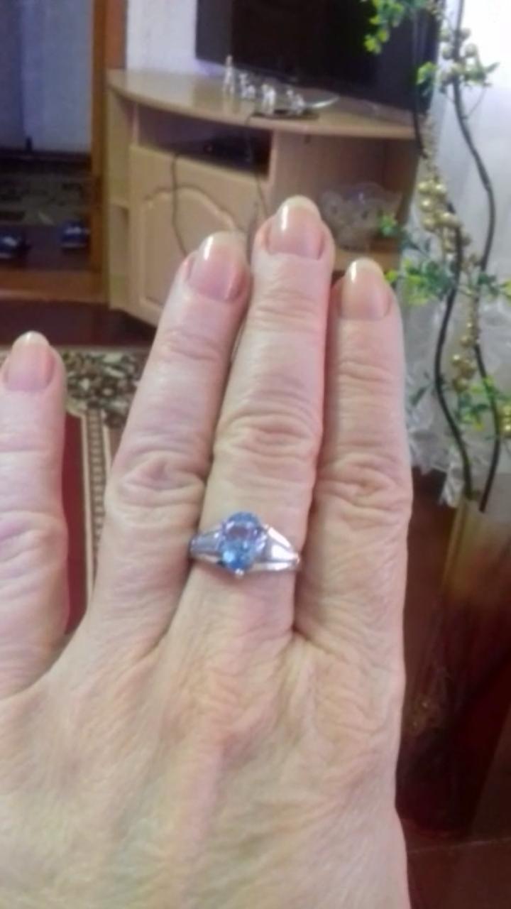 Кольцо просто потрясающее!