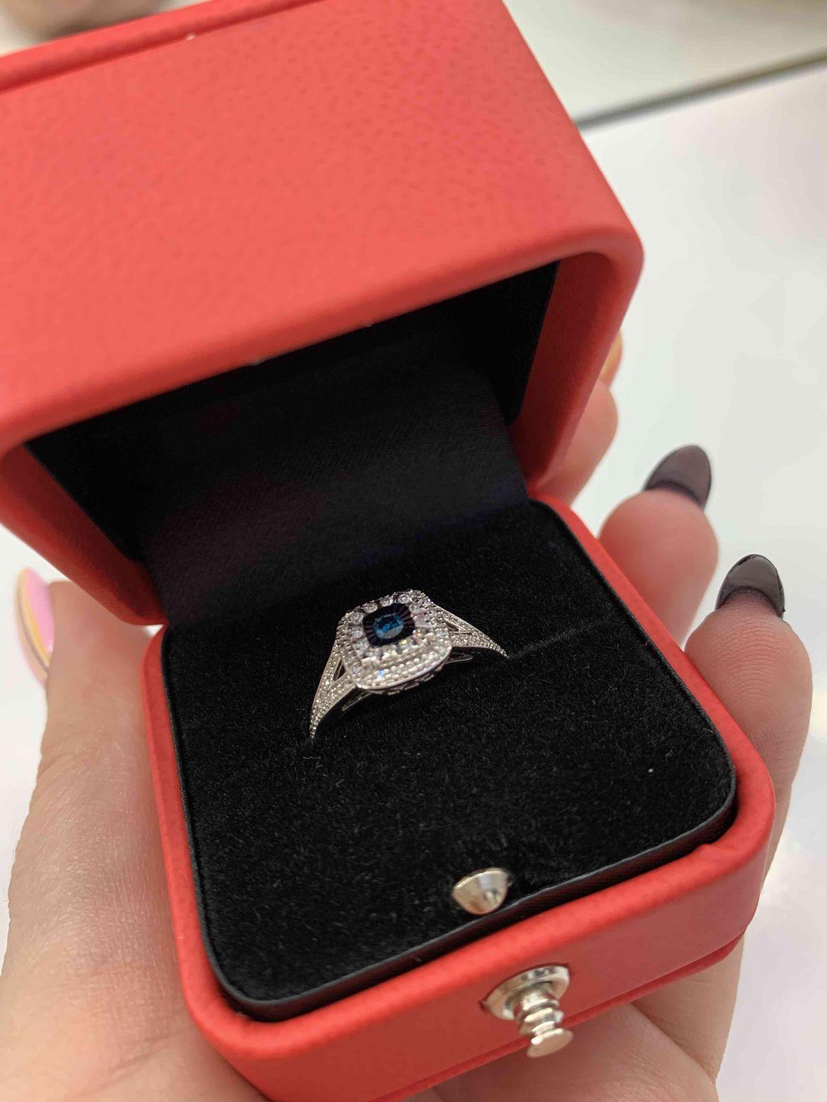 Бриллиантовое кольцо ❤️