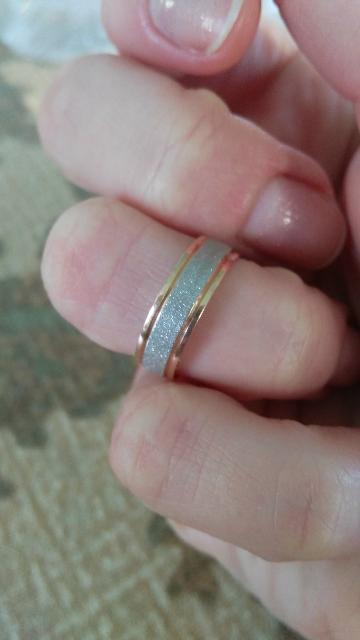 Обручальное кольцо для влюблённых сердец!