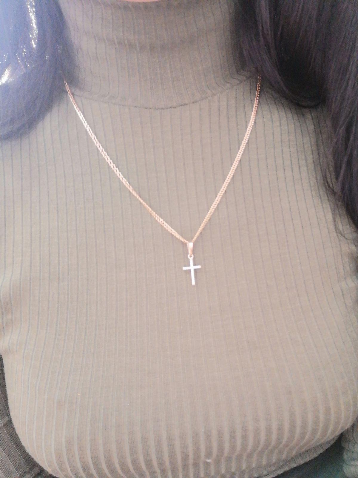 Изящный миниатюрный крестик