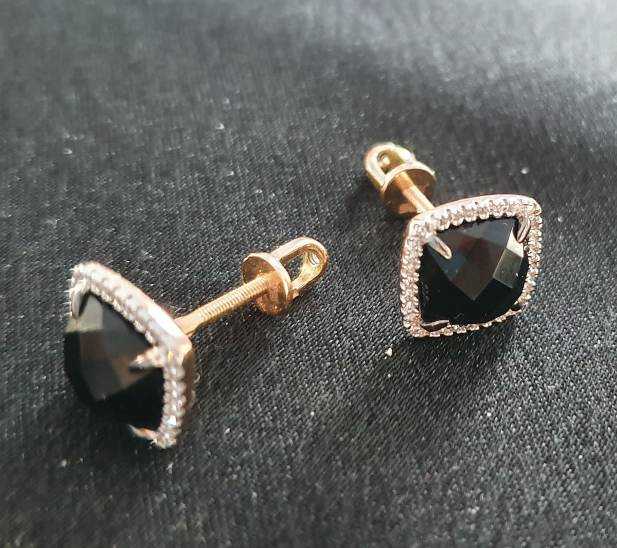 Мистический оникс с бриллиантами