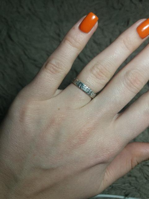 В целом кольцо хорошее.