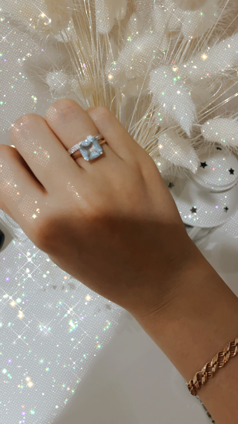 Топаз, камень, кольцо
