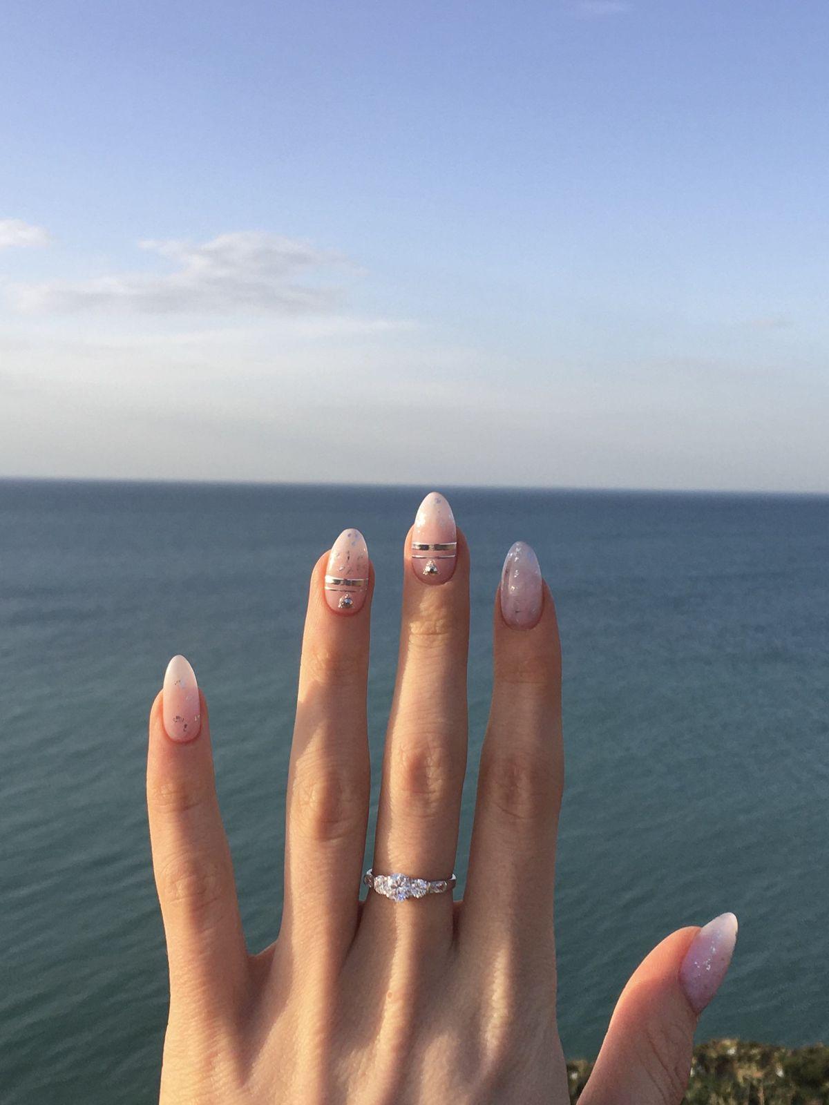 Прелестное серебряное кольцо
