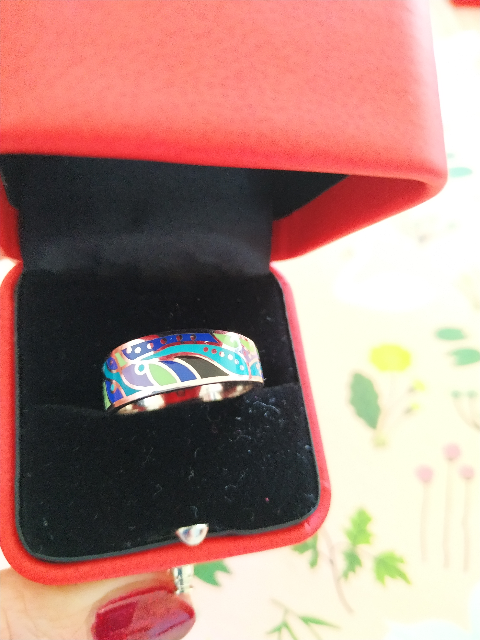 Любимое  мое кольцо!