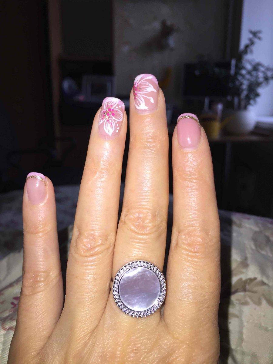 Перламутровое кольцо