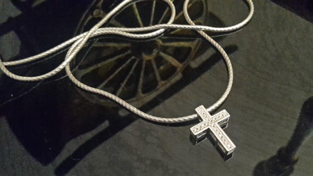 Блестящий крестик