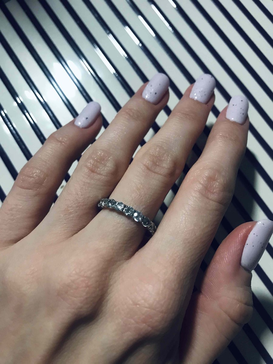 Теперь это мое любимое кольцо