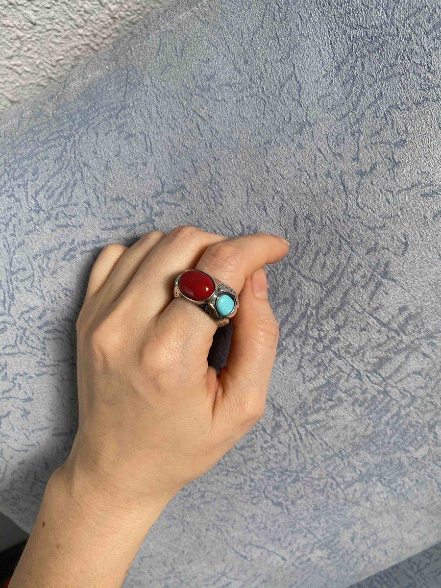Кольцо в стиле бохо или антик